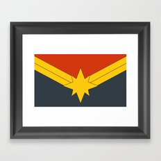 Modern Day M@rvel Framed Art Print
