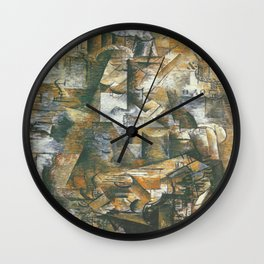 Georges Braque The Portugese Wall Clock