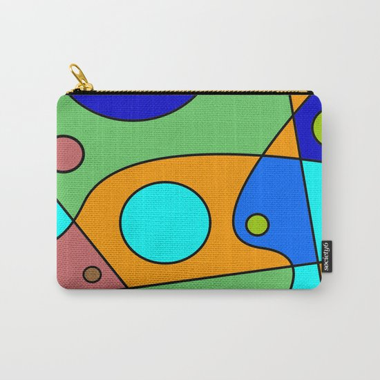 Abstract #72 Carry-All Pouch
