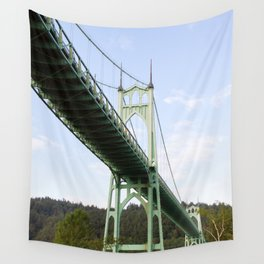 St John's Bridge Portland Wall Tapestry