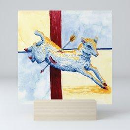 The Little Lamb Mini Art Print