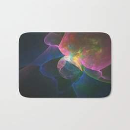 Colored Abstract Bath Mat