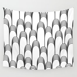 Prelude in Black and White Wall Tapestry