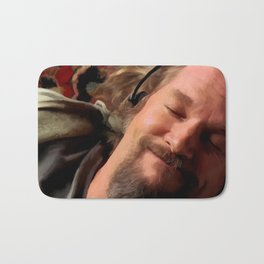 Jeff Bridges as The Dude Bath Mat
