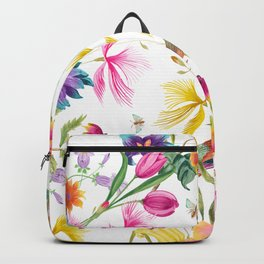 Bold Summer Print Backpack