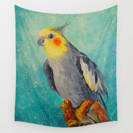 Corella parrot Wall Tapestry