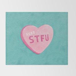 """""""Sweetheart"""" Throw Blanket"""