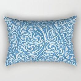 Celtic Warrior woad Rectangular Pillow