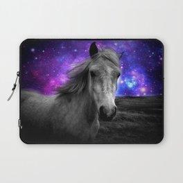 Horse Rides & Galaxy Skies Laptop Sleeve