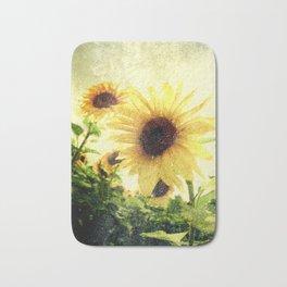 Sunflower Art 1 Bath Mat