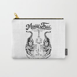 Muay Thai Tattoo Carry-All Pouch