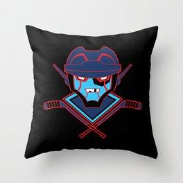 Autonomous Hat Trick Club Throw Pillow