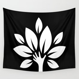 The Nurturing Hand Wall Tapestry