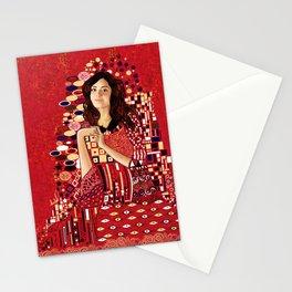 Portrait of Clara Oswin-Oswald Stationery Cards