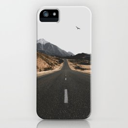 ROAD - BIRD - HILLS iPhone Case