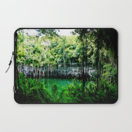 Travel Photography : Los Tres Ojos - Dominican Republic Cave Laptop Sleeve