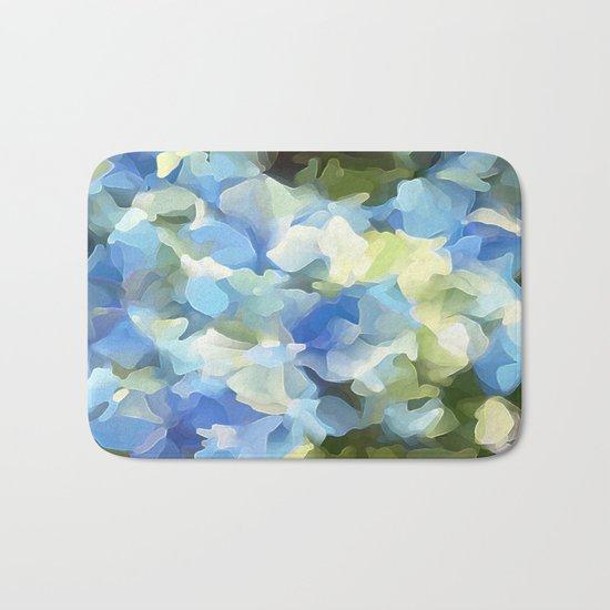 Blue Blue Electric Blue Bath Mat