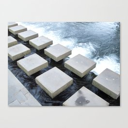 Stepping Stone Canvas Print