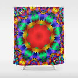 joy and energy -1- Shower Curtain