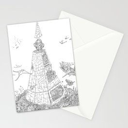 The Tower of Selfish.(Line) Stationery Cards