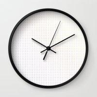 dot Wall Clocks featuring DOT by Francesco Salerno