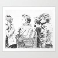 """""""The world wont listen"""" Art Print"""