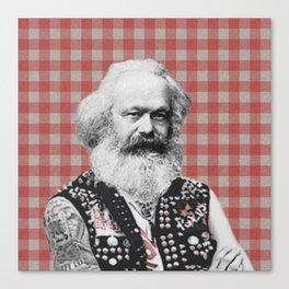 Punk Marx Canvas Print