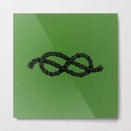 Common Rope Logo Metal Print