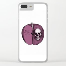 Skull WILLSHAKESPEARE Clear iPhone Case