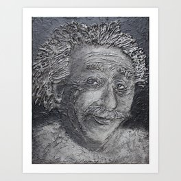 Wilder Einstein Art Print