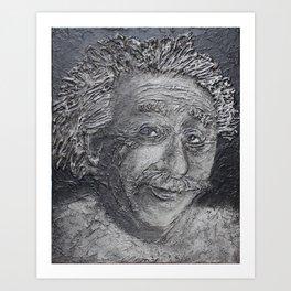 Wilder Einstein Art Print