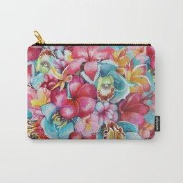 Hawaiian Bouquet Carry-All Pouch