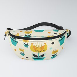 Abstract Flower 2 Fanny Pack