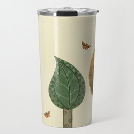 Autumn Butterflies Travel Mug