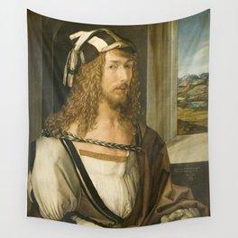 Self Portrait by Albrecht Durer, 1498 Wall Tapestry