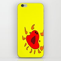 crab iPhone & iPod Skins featuring Crab by Happy Fish Gallery