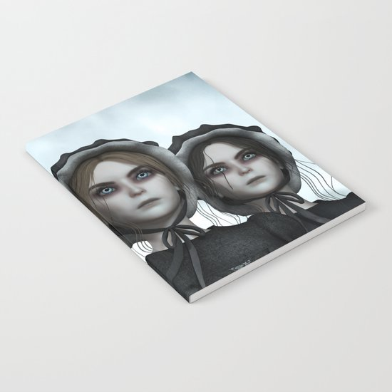 Deadly Halloween Twins – They are coming Notebook