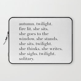 autumn twilight Laptop Sleeve