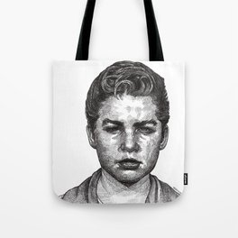 Little Jimmy Finkle Leader of the Gumball Gang Tote Bag
