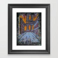 Brooklyn Nocturne 1 Framed Art Print
