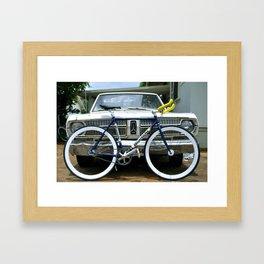 Valiant Pista Framed Art Print