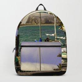 Tropical Morro Bay Backpack