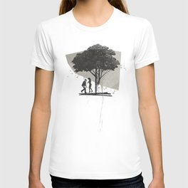 (Down By The) Family Tree | Collage T-shirt