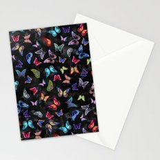 Butterfly Forest {black} Stationery Cards