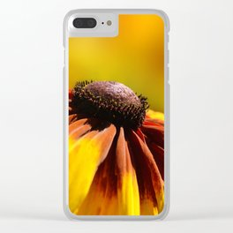 Rudbeckia 0139 Clear iPhone Case