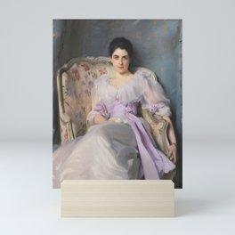 John Singer Sargent - Portrait of Lady Agnew of Lochnaw (1865-1932) Mini Art Print