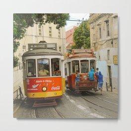 Tram Coca 2 Metal Print