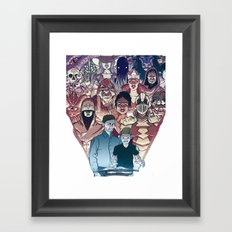 Dungeons & Dragons Framed Art Print
