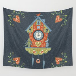 Cuckoo Clock Wall Tapestry