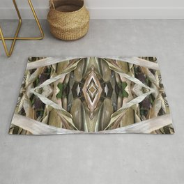 Corn Stalk Pattern Rug